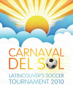 Sangre Morena joined other artists at Carnaval del Sol, Latincouver's Soccer Tournament. on July 31, 2020.