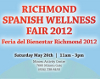 May 26, 2012:  Sangre Morena played the dual role of performers and joint Masters of Ceremony for the Spanish Family Wellness Fair in Richmond, BC.